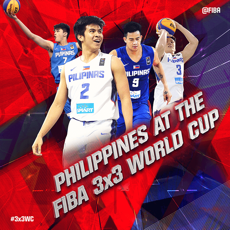 Philippines at the FIBA 3x3 World Cup