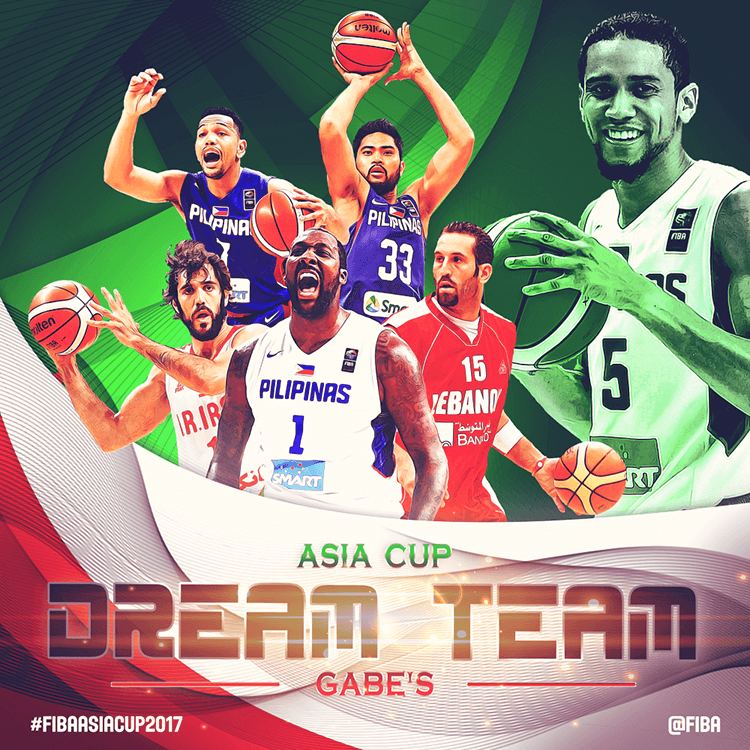 FIBA Asia Cup dream team