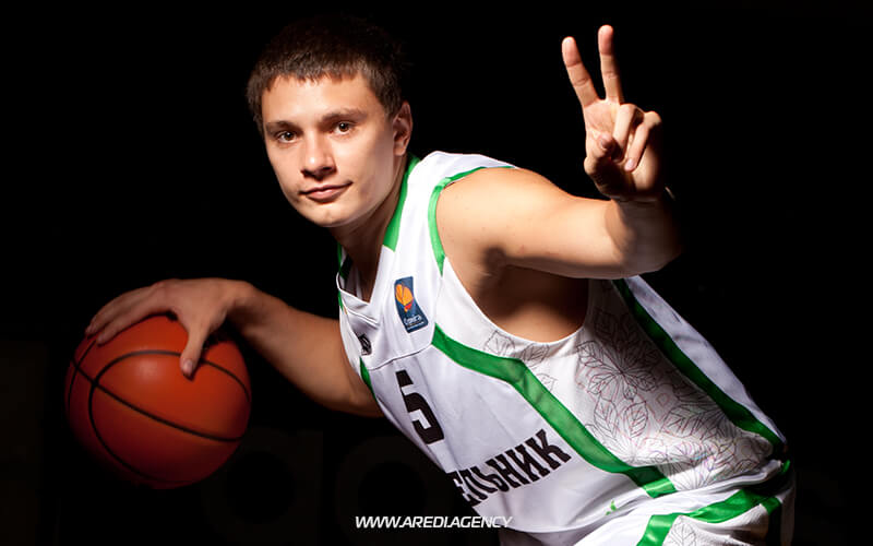 Денис Лукашов. Фотосессия БК Будивельник 2011-2012 | Denys Lukashov. BC Budivelnyk photo shoot 2011-2012