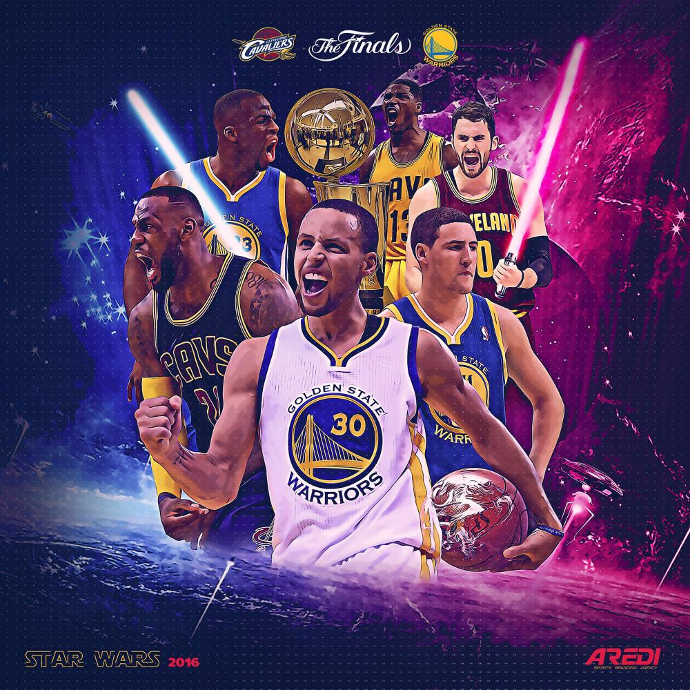 NBA finals art