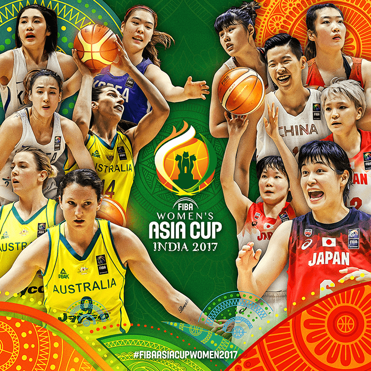 The FIBA Asia Women's Cup | Social media design